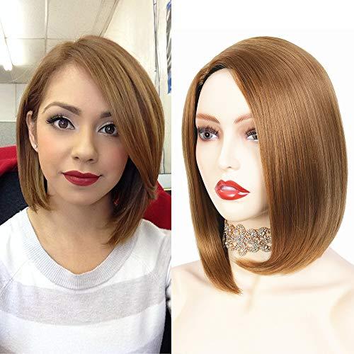 Parrucca bionda donna Parrucca caschetto parrucca donna capelli corta liscia parrucca bionda realistica hair wigs