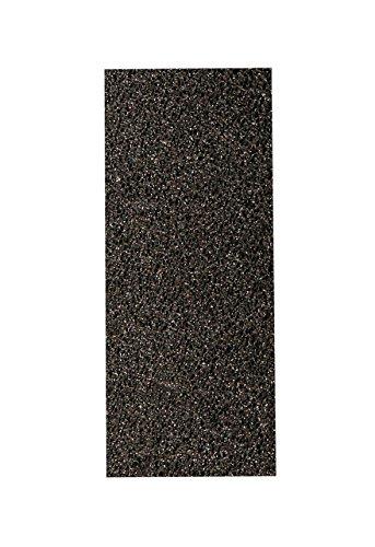 Titania zolfo di Pomice, Extra Duro, Nero, circa 9.5x 4x 2cm, su blister, 1er Pack (1X 18G)