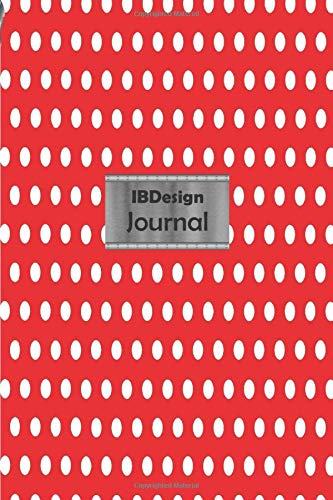 IBDesign Journal Professional Travel Make-up Cosmetic Organizer Notebook in your bag for women |6x9 inch |100 Lined pages | Glossy Red Polka Dot ... active travelers or beauty products lovers