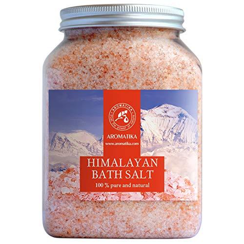 Sale Rosa Himalaya 1300g - Puro e Naturale 100% - Sale Himalayano - Ideale per Dormire Bene - Rimedi Contro lo Stress - Bagno - Bellezza - Rilassante - Sali da Bagno