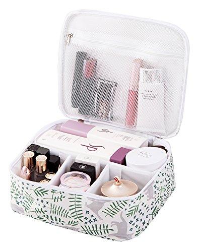 Beauty case da viaggio per trucchi, beauty case portatile per pennelli da toeletta