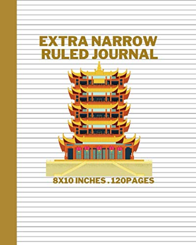 Extra Narrow Ruled Journal: Large ultra-thin lining Paper Notebooks & Journals is perfect for writings, drawings, notes, musical compositions, or anything else you choose.