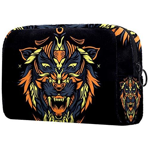 Tiger Axa - Beauty case da viaggio per uomo o donna