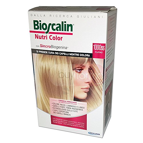 Bioscalin nutri color 1000ss platino