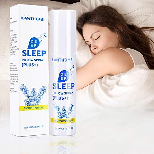 Deep Sleep Spray, Spray Per Cuscino Lavanda Deep Sleep Aid, Nebbia Spray Con Lavanda Naturale E Oli Essenziali Vegetali Per Dormire E Rilassarsi, Appannamento Lenitivo Per Cuscini