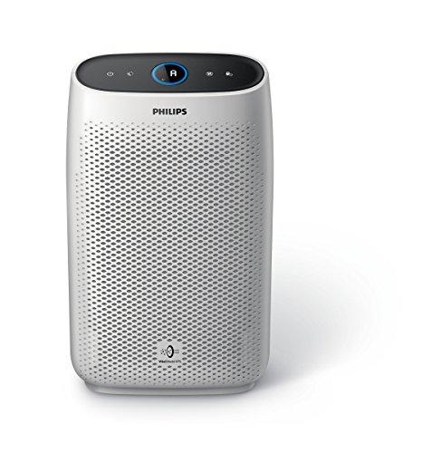 Philips Purificatore d'Aria AC1215/10 con Tecnologia VitalShield IPS e Filtro Nanoprotect, 50 watt, Superficie 63 m², Bianco, antiallergico