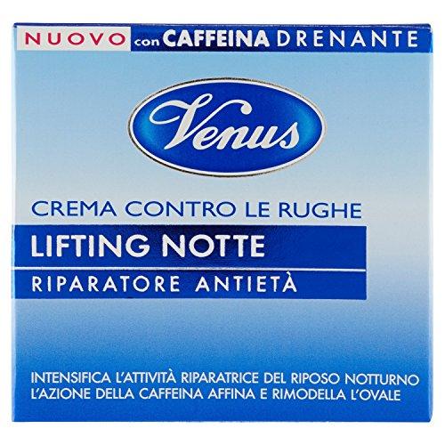 Kelemata Crema Contro le Rughe Lifting Notte, Bianco - 50 ml