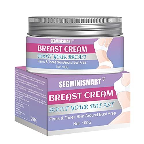 Crema per l'ingrandimento del seno, Crema per l'aumento del seno, Crema idratante per il seno, Crema rassodante liftante per il seno rinforzante per il petto, Naturalmente più pieno, Rassodante