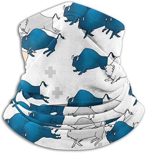 LiGHT-S Sciarpe scaldacollo modello caramelle al cioccolato Ghette Maschera per viso Bandane per polvere Freddo Inverno Inverno Festival Sport per uomini e donne