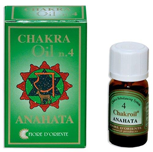 Fiore D 'oriente Quarta Chakra Anahata Oli Essenziali, 10ml, colore: verde