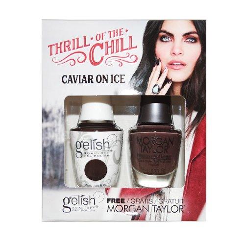 Morgan Taylor Gelish Duo Caviar On Ice - 30 ml