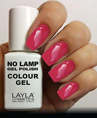 Layla Cosmetics Milano Lamp Gel Polish-Smalto per le unghie My Senorita