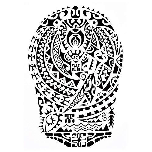 Tatuaggio tribale Maori J522