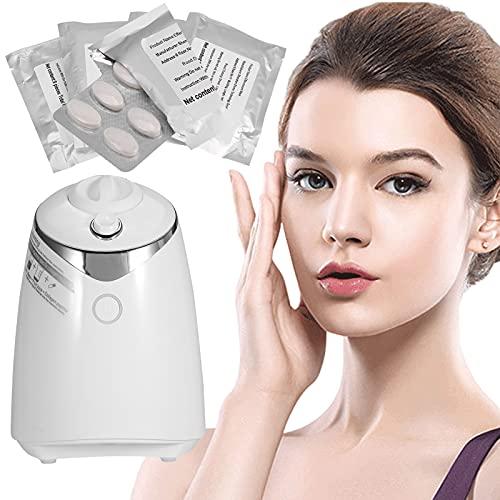 Macchina per la creazione di maschere per il viso con collagene da 32 pezzi, trattamento per il viso, maschera per frutta e verdura naturale fai-da-te SPA Cura della pelle (Machine)