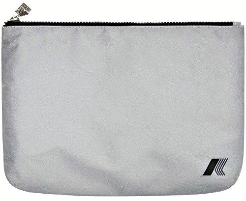 Beauty Unisex K-Way K-Pocket Reflective Slg Medium Flat Pouch