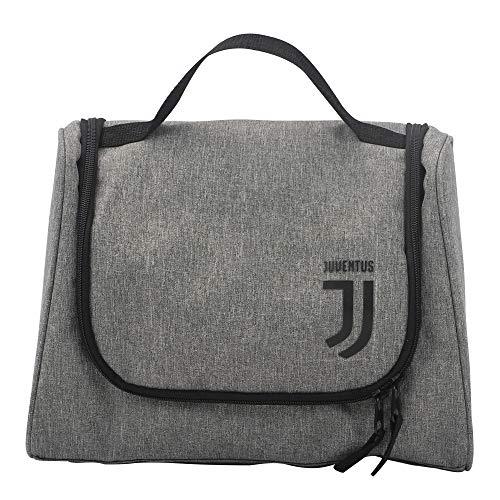 Juventus Wash Kit - Trousse da Viaggio - Collezione Travel - 100% Originale - 100% Prodotto Ufficiale - Colore Grigio