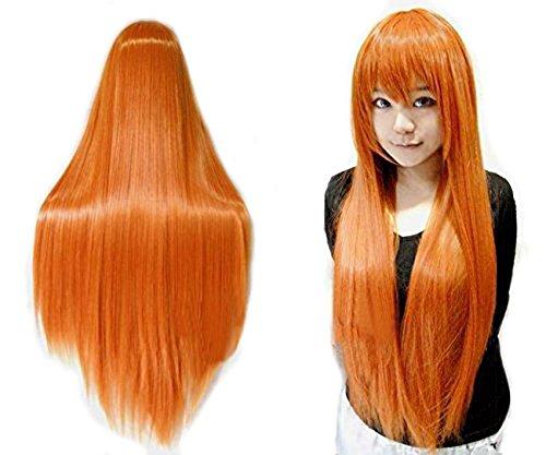 Anogol Vocaloid 81,3cm 80cm lungo rettilineo Cosplay Party parrucche per Halloween