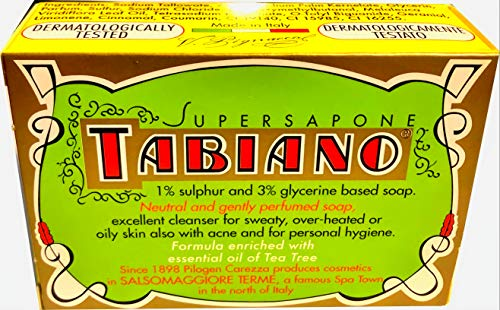 Tabiano Super Sapone con Zolfo