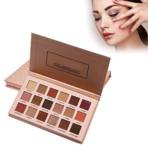 Ombretti Makeup Palette, 18 Colori Palette Ombretti, Professionale Ombretto Perla Opaco palette Set di Trucco Cosmetico, Eyeshadow Palette Ombretti a Lunga Durata (Rose Gold Palette)