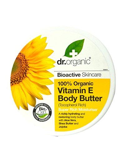 Dr. Organic Vitamin e Body Butter - Burro Corpo 200 ml