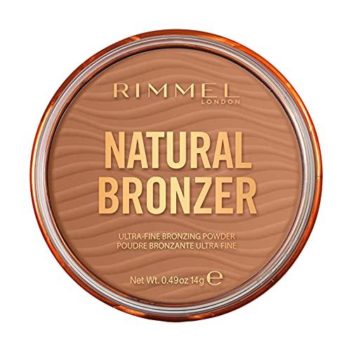 Rimmel London, Nuova Natural Bronzer, Terra Compatta Effetto Naturalmente Abbronzato, 002 Sunbronze
