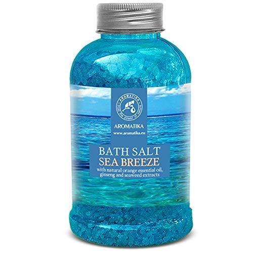 Sali da Bagno con Olio Essenziale di Brezza Marina 600g - Sale da Bagno per un Buon Sonno - Riduzione dello Stress - Bellezza - Cura del Corpo - Benessere - Bath Salt