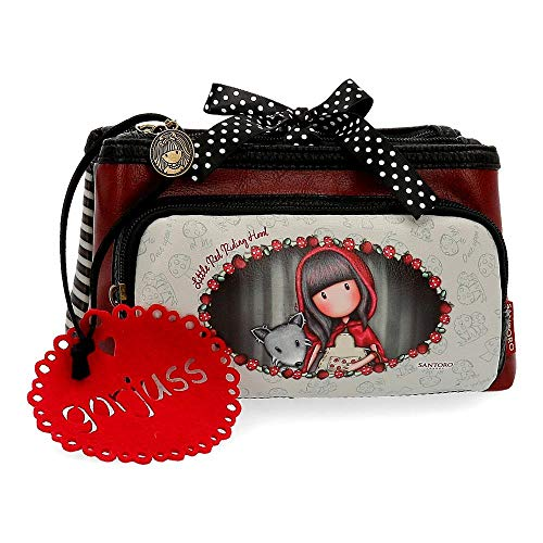 Gorjuss Little Red Riding Hood Beauty Case da viaggio 20 Centimeters 1.83 Multicolore (Multicolore)