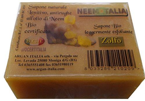 Confezione 4 saponi al Neem & ZOLFO da 100gr.