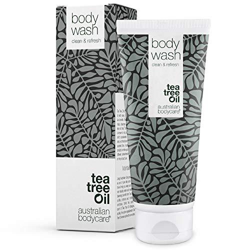 Australian Bodycare Body Wash 200 ml | Gel doccia con Tea Tree Oil australiano - Contro macchie, brufoli, piede d'atleta, tigna, funghi, acne ed odori sgradevoli del corpo e dei piedi