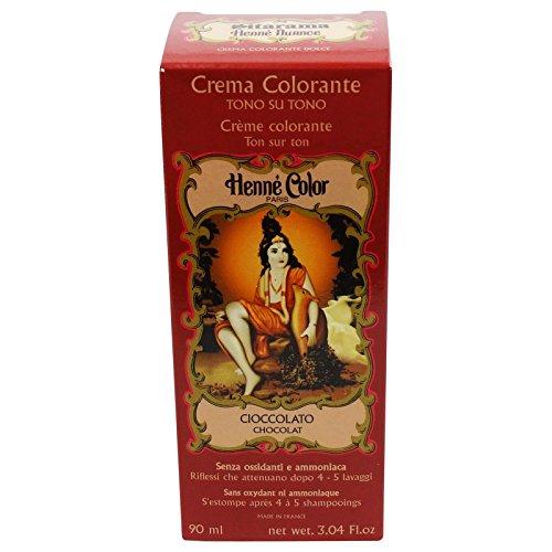 Sitarama Henne Crema Colorante Cioccolato Tintura Naturale EcoBio