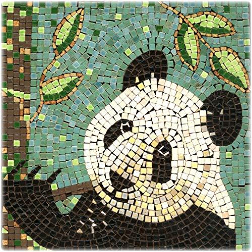 Kit Mosaico fai da te, 20x20cm, Panda