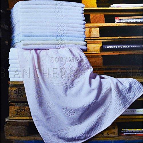 BESANA COMBY 6+6 Set Asciugamano e ospite in spugna di Puro Cotone BURANO colori Assortiti
