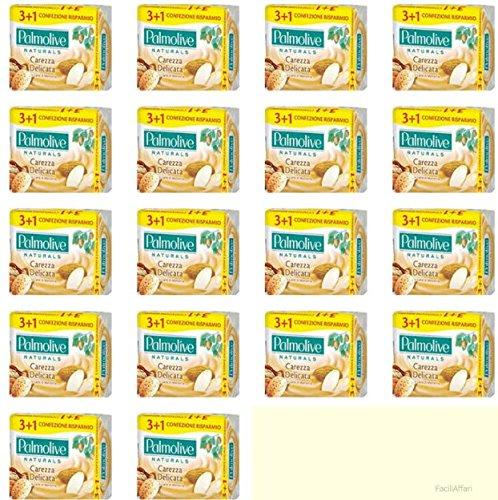 18 confezioni Saponette Sapone solido Palmolive Naturals Latte e Mandorla Carezza Delicata