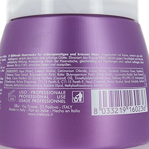 Inebrya Ice Cream Liss-Pro Liss Perfect Mask - 500 Ml