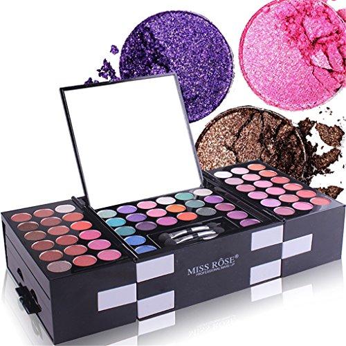 BrilliantDay set palette 148 colori per makeup cosmetici professionali, include ombretti fard cipria fondotinta Polvere sopracciglio
