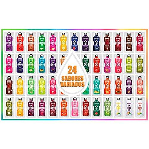 Bolero Drink 24 Bustine Gusti Diversi Assortimento alla Frutta Preparato Polvere Solubile Per Bevanda Fresca in Acqua Prodotto Ideale Sport Integratore Sali Minerali Vitamina C e 0 Grassi Gluten Free