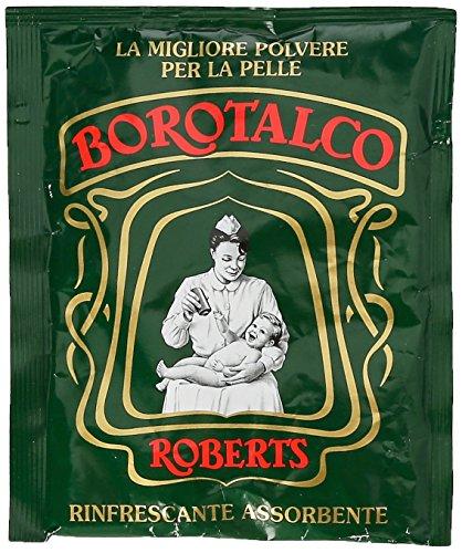Borotalco - Roberts Polvere per la Pelle, Rinfrescante Assorbente - 100 g