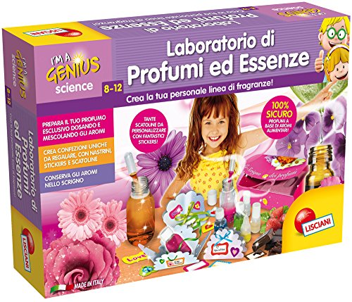 Lisciani Giochi I'm a Genius Science Laboratorio di Profumi ed Essenze, 62386