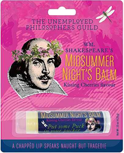 Unemployed Philosophers Guild William Shakespeare's Midsummer Night's Lip Balm - Made in The USA by The
