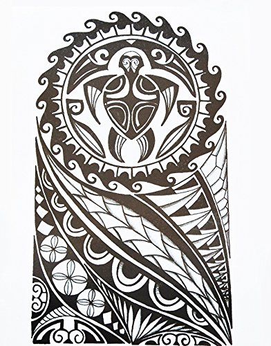 Tribal Tattoo Maori Hb857 - Tatuaggio per festival