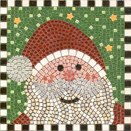 Kit Mosaico Fai da Te, 20x20cm, Babbo Natale