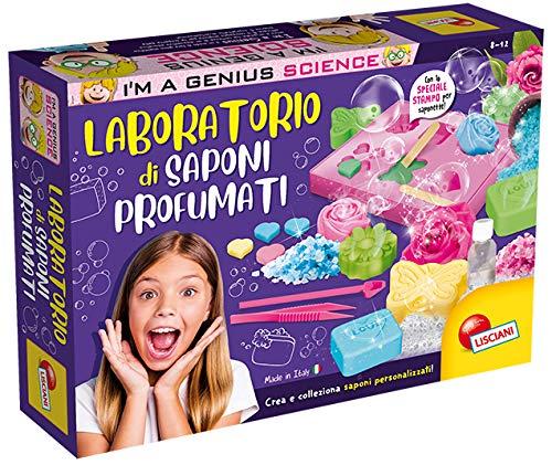 Liscianigiochi- I'm a Genius Gioco per Bambini Laboratorio dei Saponi Profumati, 668960