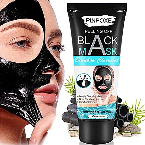 PINPOXE Maschera nera, Black Mask, Blackhead Maschera, per la rimozione del comedone, PINPOXE, HTMMPINPOXE-CM